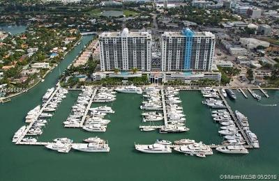 Miami Beach Condo For Sale: 1800 Sunset Harbour Dr #1605