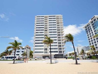 Fort Lauderdale Condo For Sale: 209 N Fort Lauderdale Beach Blvd #4F