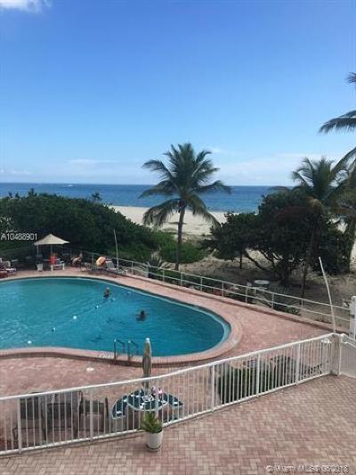 Pompano Beach Condo For Sale: 710 N Ocean Blvd #205