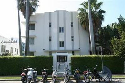 Miami Beach Condo For Sale: 820 Euclid Ave #206