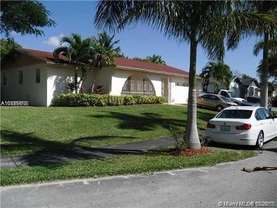 Miami Single Family Home For Sale: 10845 SW 166th Ter
