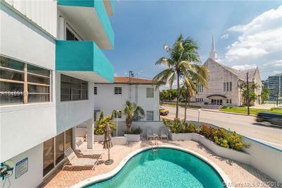 Miami Beach Condo For Sale: 6941 Carlyle Ave #2B