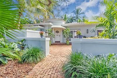 Coral Gables Single Family Home For Sale: 918 Alfonso Ave