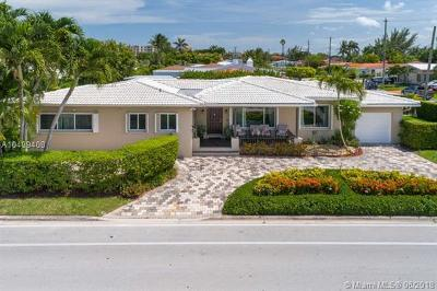 Surfside Single Family Home For Sale: 424 89th St