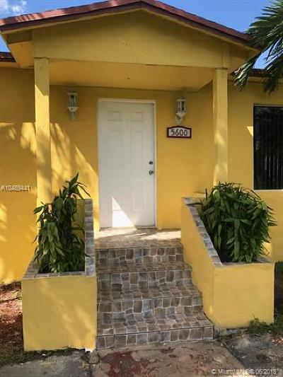 Miami Single Family Home For Sale: 5600 SW 2nd St
