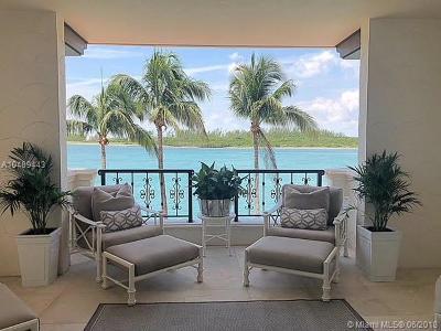 Miami Beach Condo For Sale: 2433 Fisher Island Dr #2433