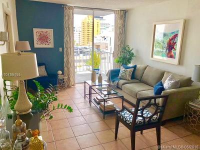 Miami Beach Condo For Sale: 2829 Indian Creek Dr #806
