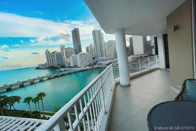 Miami Condo For Sale: 701 Brickell Key Blvd #1112