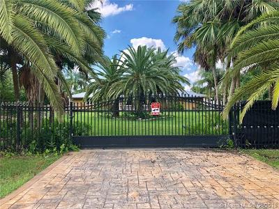 Miami Single Family Home For Sale: 19511 SW 216th St