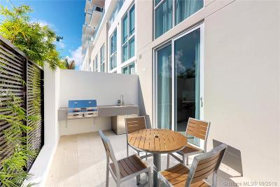 Fort Lauderdale Condo For Sale: 401 N Birch Rd #TH-3