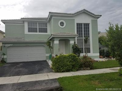 Coconut Creek Single Family Home For Sale: 4234 NW 56th Dr