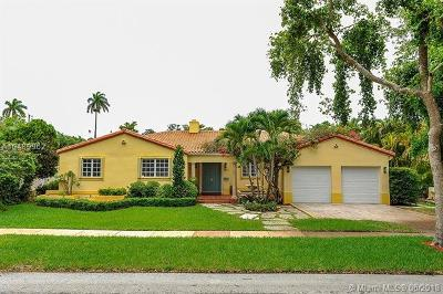 Coral Gables Single Family Home For Sale: 1502 Tangier St
