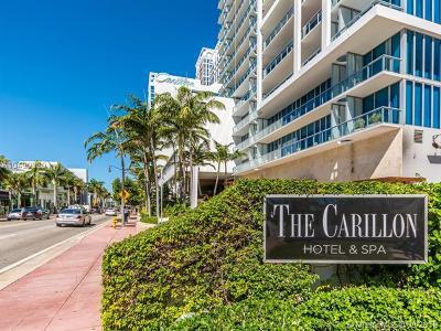 Miami Beach Condo For Sale: 6799 Collins Ave #901