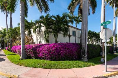 Miami Beach Condo For Sale: 1500 Pennsylvania Ave #11A