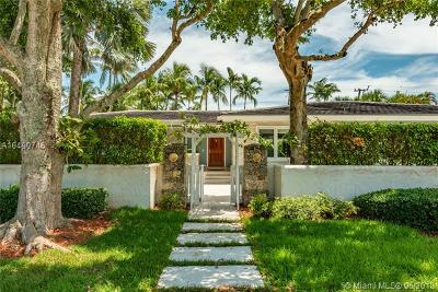 Coral Gables Single Family Home For Sale: 140 S Prospect Dr