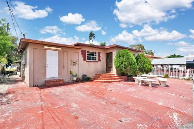 Miami Single Family Home For Sale: 30 NW 41st St