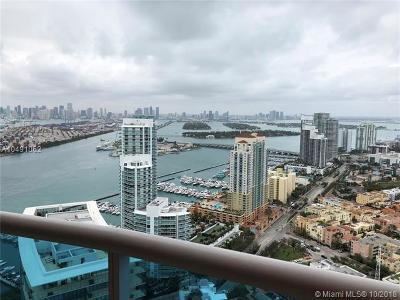 Miami Beach Condo For Sale: 300 S Pointe Dr #4304