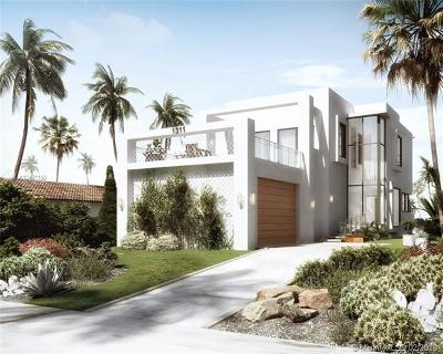 Miami Beach Single Family Home For Sale: 1311 Bay Rd