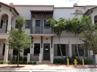 Doral Condo For Sale: 8362 NW 52nd Te