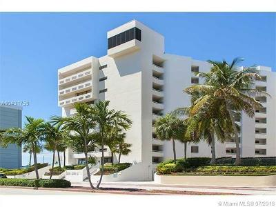 Miami Beach Condo For Sale: 6820 Indian Creek Dr #3D