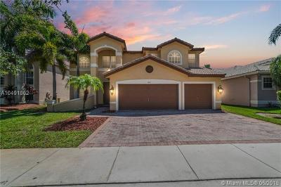 Miramar Single Family Home For Sale: 3543 SW 180th Way