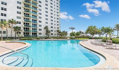 Hollywood Condo For Sale: 3001 S Ocean Dr #347