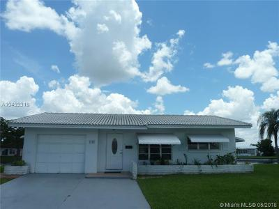 Tamarac Single Family Home For Sale: 8100 NW 59th St