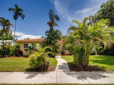 Miami Shores Single Family Home For Sale: 14 NE 109th St