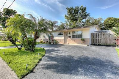 Sunrise Single Family Home For Sale: 8540 NW 24th Pl