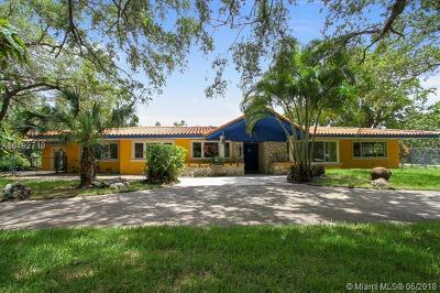 Pinecrest Single Family Home For Sale: 7355 SW 104th St