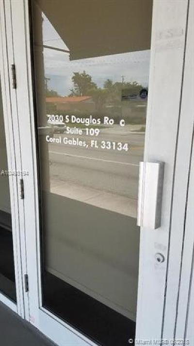 Coral Gables Commercial For Sale: 2030 S Douglas Rd #109