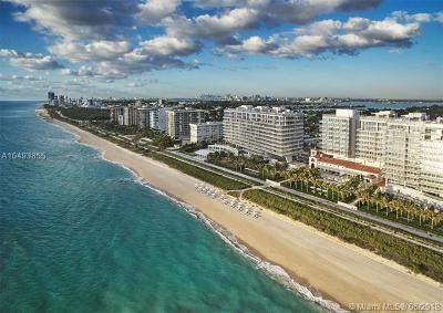 Surfside Condo For Sale: 9111 Collins Ave #N-422