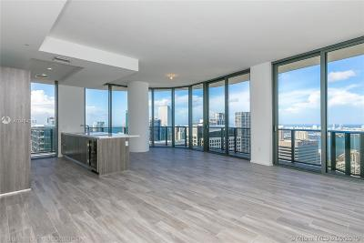 Miami-Dade County Condo For Sale: 801 S Miami Ave #5105