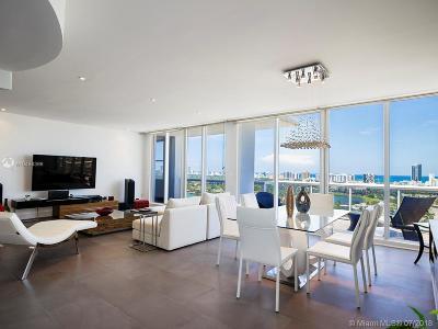 Miami Beach Condo For Sale: 1900 Sunset Harbour Dr #PH05