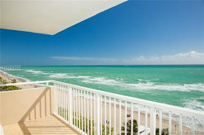 Hallandale Condo For Sale: 1950 S Ocean Dr #8P