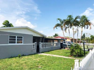 Miami Gardens Single Family Home For Sale: 1310 NW 197th St