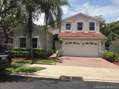 Single Family Home For Sale: 1514 SW 149th Ave