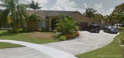 Cutler Bay Single Family Home For Sale: 20100 Cutler Ct