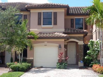 Hialeah Gardens Condo For Sale: 3426 W 90 St