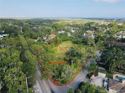 Pinecrest Residential Lots & Land For Sale: 12999 Old Cutler Road