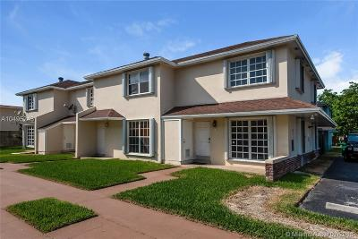 Cutler Bay Condo For Sale: 19372 SW 103rd Ct #B