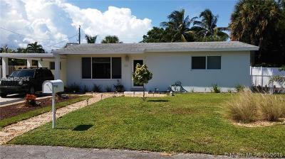 Wilton Manors Single Family Home For Sale: 33 NE 26th Ct