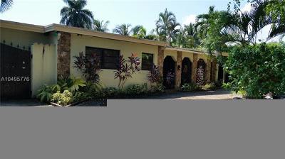North Miami Single Family Home For Sale: 2120 Alamanda Dr