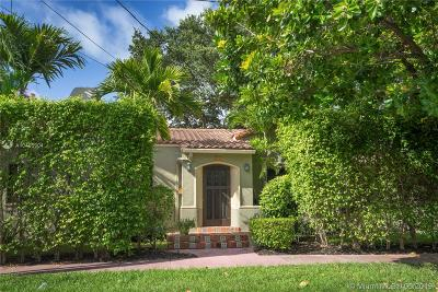 Miami Beach Single Family Home For Sale: 400 W 43rd St