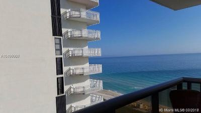 Miami Beach Condo For Sale: 6039 Collins Ave #1401