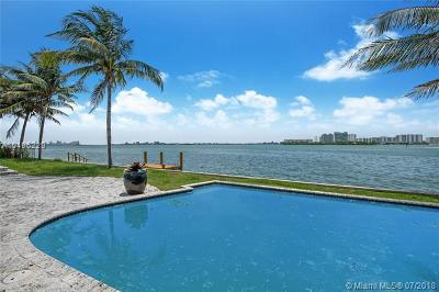 Miami Single Family Home For Sale: 8591 NE Bayshore Dr