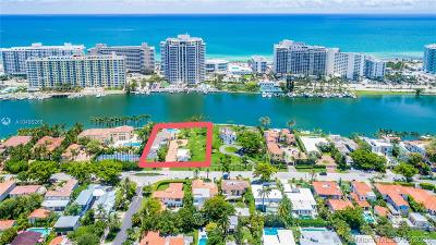 Miami Beach Single Family Home For Sale: 5589 Pine Tree Dr