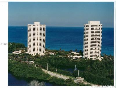 Riviera Beach Condo For Sale: 5080 N Ocean Dr #18C
