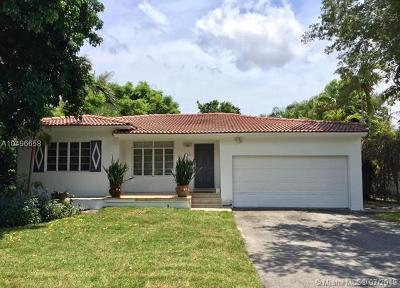 El Portal Single Family Home For Sale: 110 NE 87th St