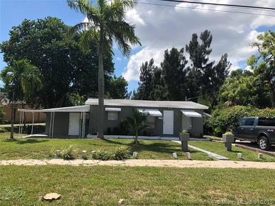 Pompano Beach Single Family Home For Sale: 600 SW 8th St